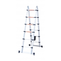 Non Insulated 3.8m Multi Purpose Telescopic Ladder Manufactures