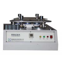 4 Station Martindale Abrasion Testing Machine For Fabric / Textile / Rubber And Leather Manufactures