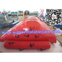Strong PVC Tarpaulin Inflatable Iceberg Water Slide Toys for Amusement Park Manufactures