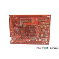 Red Solder Mask PCB Printed Circuit Board Communication Electronics Application Manufactures
