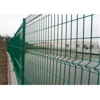 Anti climb construction steel welded mesh fencing durable and high security Manufactures