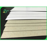 Recyclable Pulp Grey Back Duplex Board 250GSM 300GSM For Packaging Manufactures