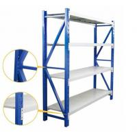 Medium Duty Warehouse Shelving Rack Customized Color And Dimension Manufactures