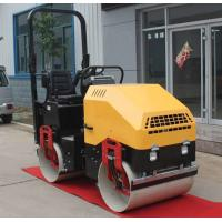 China Road vibrator walk behind wacker pedestrian roller compactor on sale