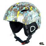EN1077/B certificou o capacete do esqui do Em-molde do PC para a snowboarding SKI-01