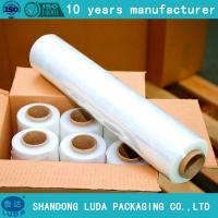 Manual filme strech/Heavy Duty Shrink Wrap Film FOR SALE pre stretch 280% Manufactures