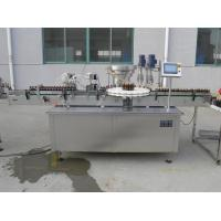 Cheap Rotary Type 8 Head Vitamin Liquid Filling Capping Machine For Plastic Glass Bottle Touch Screen Operation for sale