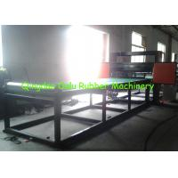 Cheap PLC control rubber pipe cutting machine to cut 1 - 12 pipes per time for sale