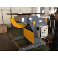 China Remote Hand Control Steel Structure 3 T Tilting Turn Rotary Table for Welding  CE on sale