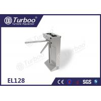 Metro Station Three Arm Turnstile Security Products Standard Electronic Interface Manufactures