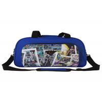 600D Polyester Cartoon Big Size Foldable Travel Bag , Travel Suit Bag For Man Woman Manufactures