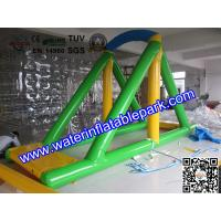 Custom Inflatable Water Swing / Inflatable Water Park Water Sport Toy Manufactures