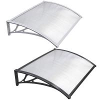 DIY Clear SOLID 3mm Polycarbonate PC Awning for door window house canopy UV protected