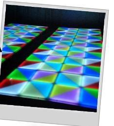 VS-36 LED dancing floor effect flashing lights for Disco, Clubs, KTV, Pub, Bar, Family Manufactures