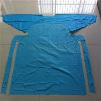 Customized Hospital Disposable Medical Aprons With Sleeves Anti Dust / Blood