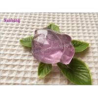 Transparent Handmade wholesale hotel toilet bath soap glycerin soap Manufactures