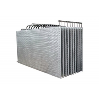 Double Embossed Dimple Plate Heat Exchanger for Heating or Cooling Manufactures