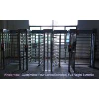 Buy cheap Philippines Stadium Full Height Turnstile / biometric access control barrier from wholesalers