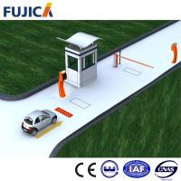 Automatic Lifting Boom Barrier Gate With Black Housing , Car Park Barrier Systems