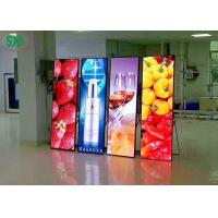China SMD2121 Indoor Advertising Led Screens With Iron And Steel Cabint on sale