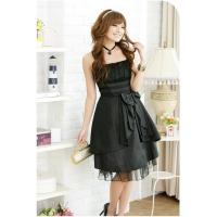 Slim style fashion bow dress Manufactures