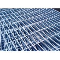 Hot Dipped Galvanized Serrated Grating Bearing Bar 32 X 5 / 25 X 5mm For Construction Manufactures