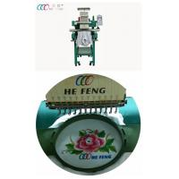 "7"" Touch Screen Professional T shirt / Cap Single Head Embroidery Machine 12 needle Manufactures"