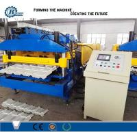 Cheap 2-3M / Min Steel Plate Structure Tile Roll Forming Machine Construction Roof Use for sale
