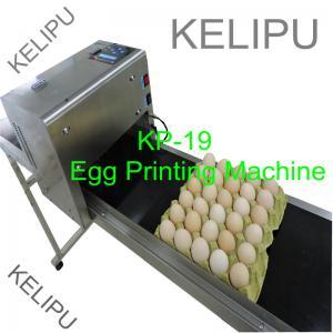 The Whole Pallet Egg Printing Machine , Industrial Inkjet Printer For Eggs