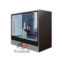 Cheap Jewelry Exhibition Lcd Transparent Screen Transparent Video Showcase 100 ~ 240V Power Supply for sale