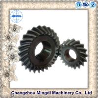 Customized Rear Axle Differential Spiral Bevel Gear For Motorcycle Wheels Manufactures