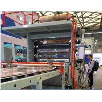 China Double Screw Plastic Profile Extrusion Machine For PVC Artificial Marble Sheet on sale