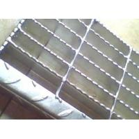 Sliver Galvanized Serrated Grating Bearing Bar Spacing Optional / Customized Manufactures