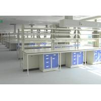 C/H Frame Steel And Wood Lab Tables Work Benches For Chemistry / Physical / Biologic Lab Manufactures