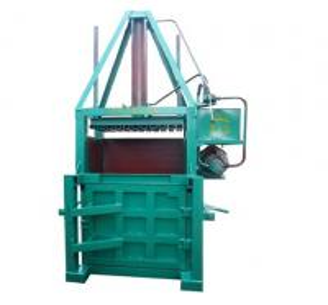 Cheap Compressor Supermarket Garbage / Carton / Waste Paper Baler Machine for sale