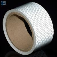 "Semi Trailer Wide Transparent Reflective Tape High Intensity Glass Bead 2"" x 30' Roll Manufactures"