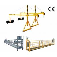 High Working Suspended Platform Cradle Scaffold Systems Building Cleaning Manufactures