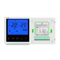 China Touch Button 3 Speed Fan Coil Smart Room Thermostat / Fan Coil Unit on sale