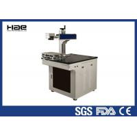 Portable metal Fiber 20W CO2 Laser Marking Machine for Carbon steel stainless electronic component Manufactures