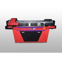 Industrial UV Glass / Wood Printing Machine With Double Print Head Manufactures