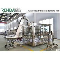 Stainless Steel Gas Beverage Filling Unit , Washing Filling Capping Machine 5.5KW Manufactures