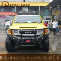 Buy cheap All Year Aluminum Material Front Bumper Bullbar For FJ Cruiser from wholesalers