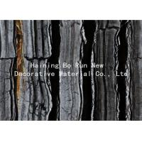 China Dark Colored Indoor PVC Ceiling Film Marble Effect Heat Insulation on sale