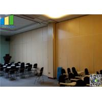 Cheap Top Hung System Aluminum Office Wall Partitions for sale