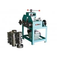 Round Steel Pipe Bending Machine / Square Pipe Bender For Greenhouse Frame Manufactures