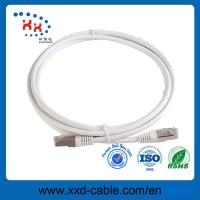 Buy cheap OEM Welcome AWG24 7*0.20mm Copper White Color RJ45 Patch Cord Cable from wholesalers