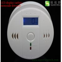 Sensitive Digital LCD Backlight Carbon Monoxide Detector Tester Poisoning CO Gas Sensor Alarm for Home Security Safety Manufactures