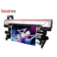 Locor Eco Friendly Indoor Printing Machine For Sublimation Printing Auto Clearing System Manufactures