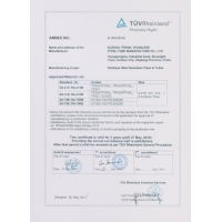 SUZHOU FRANK STEEL CO.,LTD. Certifications