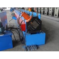 Buy cheap Custom Stud And Track Roll Forming Machine , Galvanized Steel Lip Channel Roll from wholesalers